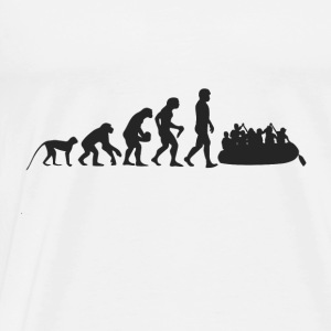 Rafting Evolution Tops - Men's Premium T-Shirt