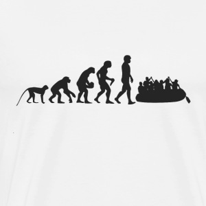 Rafting Evolution Manches longues - T-shirt Premium Homme