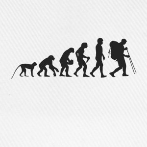 Evolution hiking T-Shirts - Baseball Cap