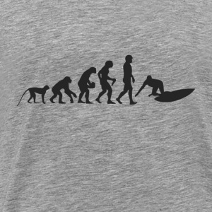 Surf evolution Sweatshirts - Herre premium T-shirt