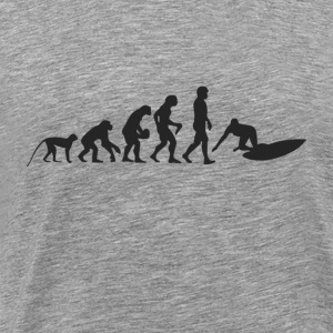 Surf evolution Long Sleeve Shirts - Men's Premium T-Shirt