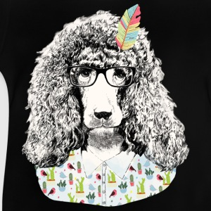 Hipster Pudel T-Shirts - Baby T-Shirt