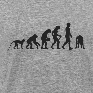 Evolution race Langærmede shirts - Herre premium T-shirt