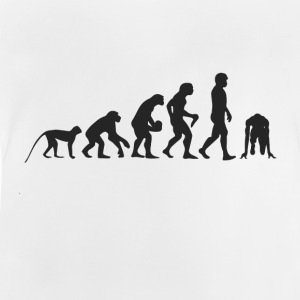 Evolution race T-shirts - Baby-T-shirt