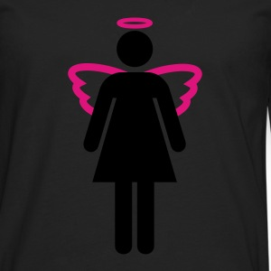 Angel Woman - Camiseta de manga larga premium hombre