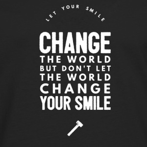 Change the world T-Shirts - Men's Premium Longsleeve Shirt