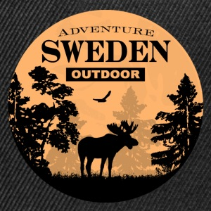 Moose - Sweden Adventure Pullover & Hoodies - Snapback Cap