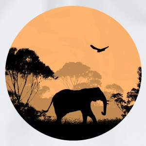 Elephant - Elefant  T-Shirts - Turnbeutel