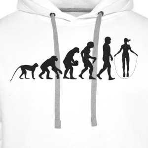 Evolution Seilspringen Shirts - Men's Premium Hoodie
