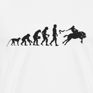 Evolution Rodeo Manga larga - Camiseta premium hombre