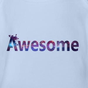 Awesome Shirt - Baby Bio-Kurzarm-Body