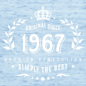 original since 1967 simply the best 50th birthday - Frauen Tank Top von Bella