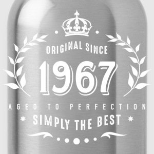 original since 1967 simply the best 50th birthday - Trinkflasche
