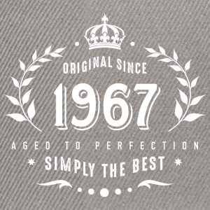 original since 1967 simply the best 50th birthday - Snapback Cap
