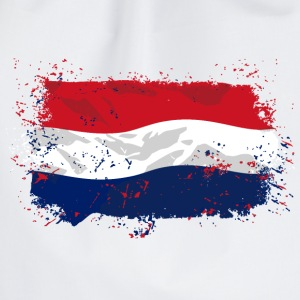 Holland Flag  T-Shirts - Turnbeutel