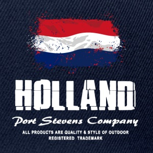 Holland Flag Logo T-Shirts - Snapback Cap