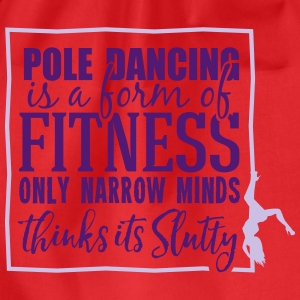 pole dancing is a form of fitness Tops - Turnbeutel