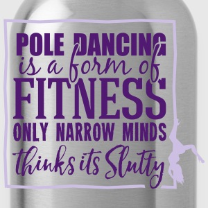 pole dancing is a form of fitness Toppar - Vattenflaska
