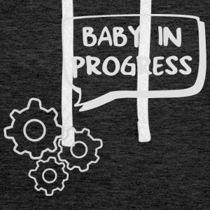 baby in progress engrenage Tee shirts - Sweat-shirt à capuche Premium pour hommes