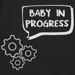 baby in progress engrenage Tee shirts - T-shirt manches longues Premium Homme
