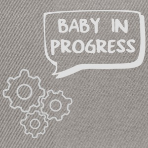 baby in progress T-Shirts - Snapback Cap