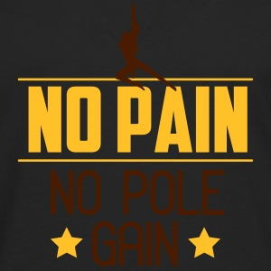 no pain no pole gain Tops - Mannen Premium shirt met lange mouwen