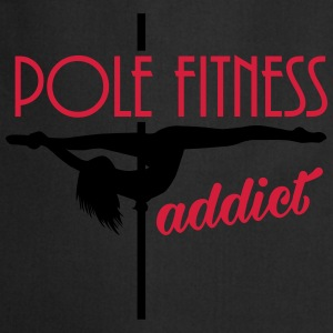 pole fitness addict T-shirts - Keukenschort