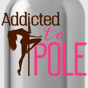 addicted to pole Toppar - Vattenflaska