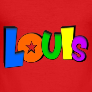 Louis Babybody - Slim Fit T-shirt herr