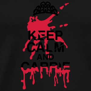 Keep calm Carrie bloodstain Bags & Backpacks - Men's Premium T-Shirt