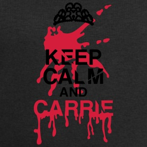 Keep calm Carrie Halloween T-shirts - Mannen sweatshirt van Stanley & Stella
