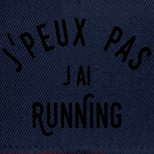 j'ai running Manches longues - Casquette snapback