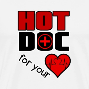 Hot Doc for your Heart Long sleeve shirts - Men's Premium T-Shirt