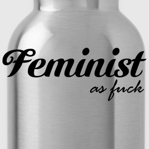 Feminist as fuck T-shirts - Drikkeflaske