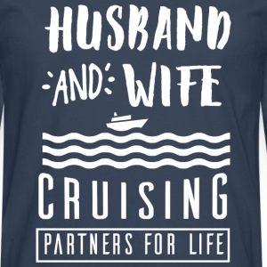 Husband and wife T-Shirts - Men's Premium Longsleeve Shirt