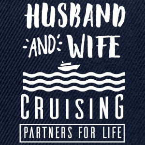 Husband and wife T-Shirts - Snapback Cap