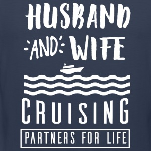 Husband and wife T-Shirts - Men's Premium Tank Top