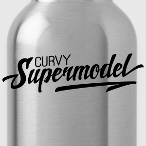 Curvy Supermodel T-Shirts - Trinkflasche