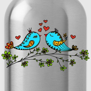 Birds in love hearts, Valentines day, birdie, cute Tee shirts - Gourde