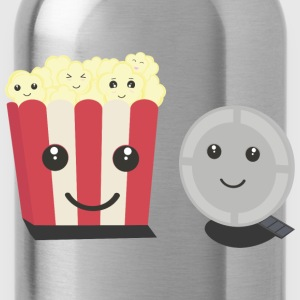 Cinema film Pocorn with faces T-Shirts - Water Bottle