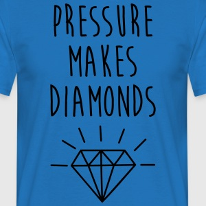 Pressure Makes Diamonds Quote Tabliers - T-shirt Homme
