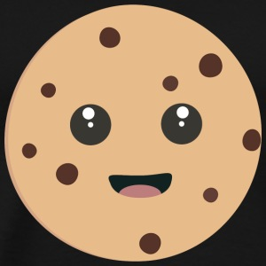 chocolate Chip Cookie kawaii Shirts met lange mouwen - Mannen Premium T-shirt