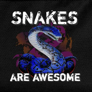 Snakes are aswesome - Kids' Backpack