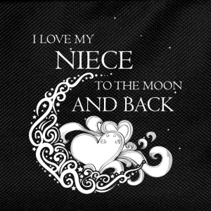 I love my niece to the moon and back - Kids' Backpack