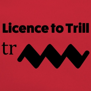 Licence to trill T-Shirts - Retro Tasche