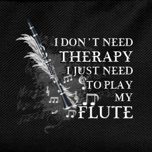 I Don't Need Therapy. I Just Need To Play My Flute - Kids' Backpack