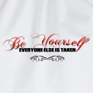 BE YOURSELF T-Shirts - Drawstring Bag