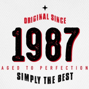 original since 1987 simply the best 30th birthday - Baseballkappe