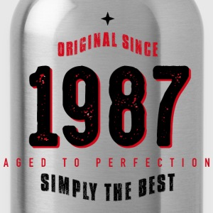 original since 1987 simply the best 30th birthday - Trinkflasche