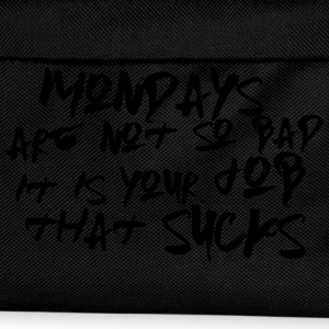 Mondays are not so bad ... T-shirts - Rygsæk til børn
